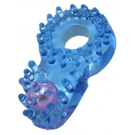 Кольцо с клиторальным язычком и шипиками